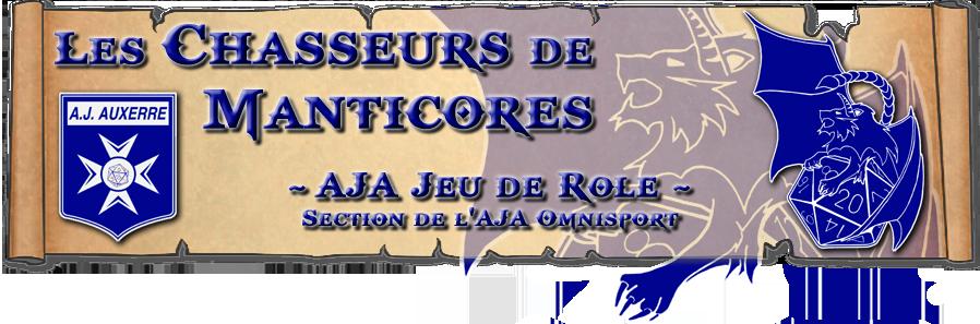 Les Chasseurs de Manticores - AJA Jeux de rôles
