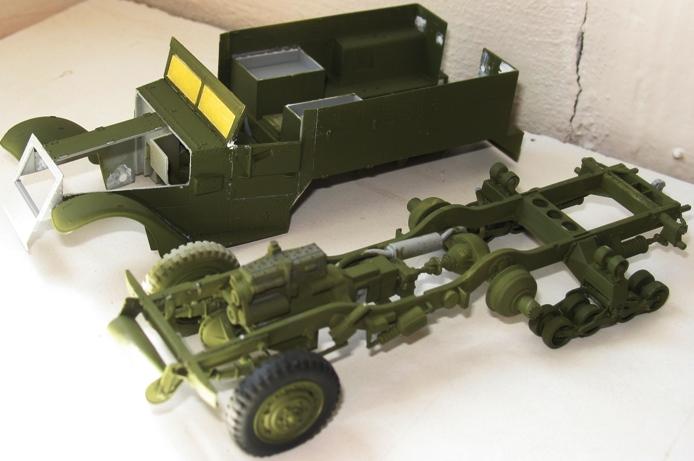 Halftrack M4 mortier Dragon 1/35 379417modles117001