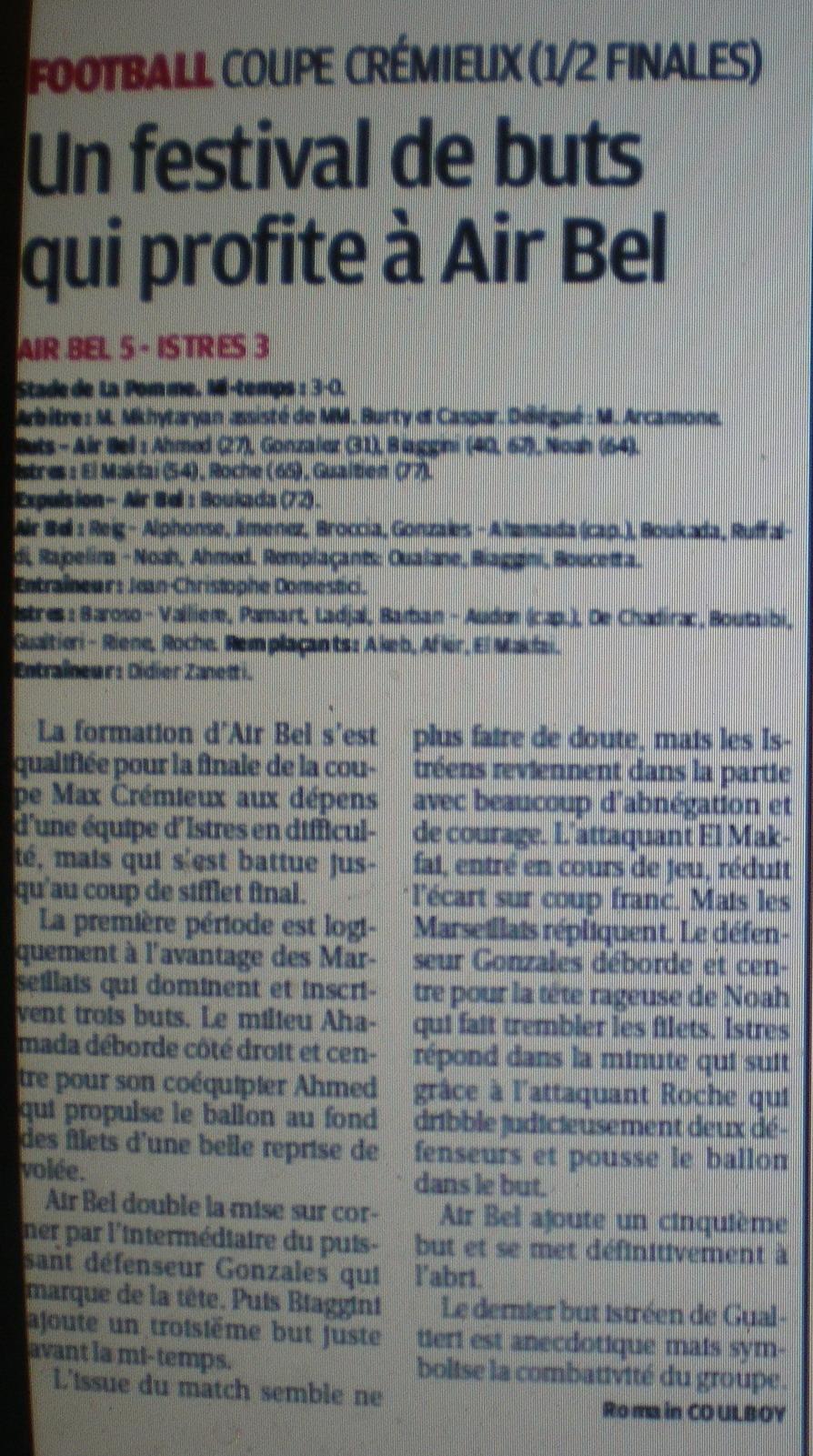 FC ISTRES B  // DHR  MEDITERRANEE  et AUTRES JEUNES  - Page 3 381075IMGP7359