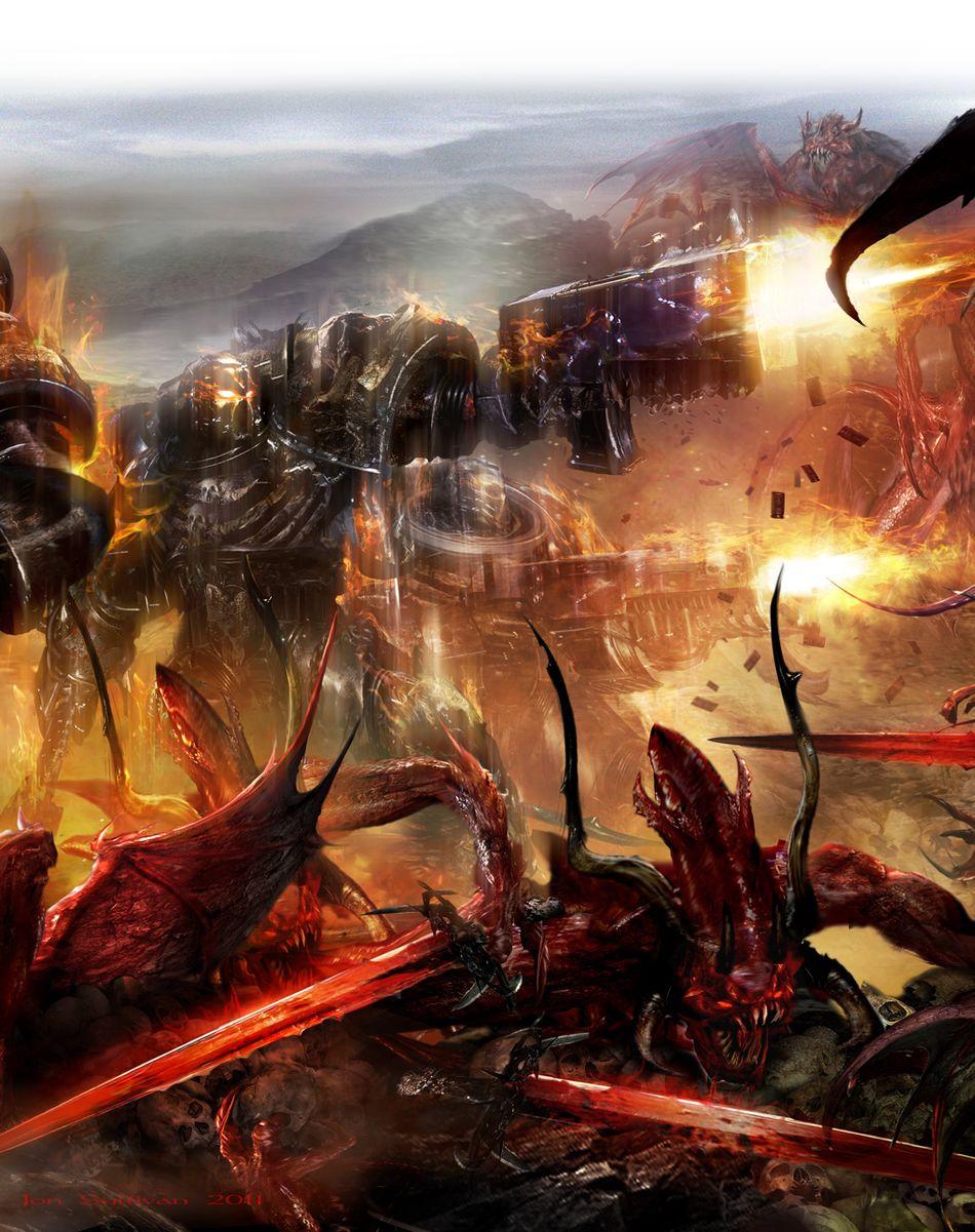 [Space Marine Battles] Legion of the Damned de Rob Sanders 3812402011LOTD11