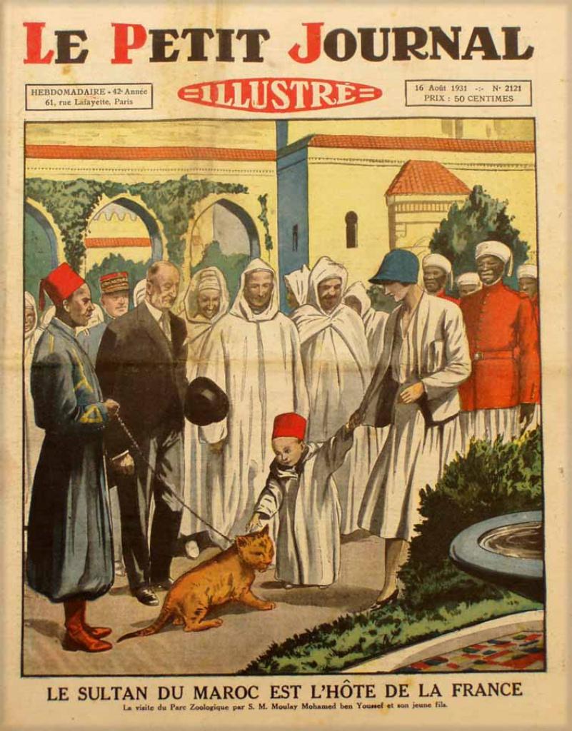 صفحات من تاريخ المغرب الحديث من خلال Le Petit journal illustré - صفحة 3 381425pj212116081931