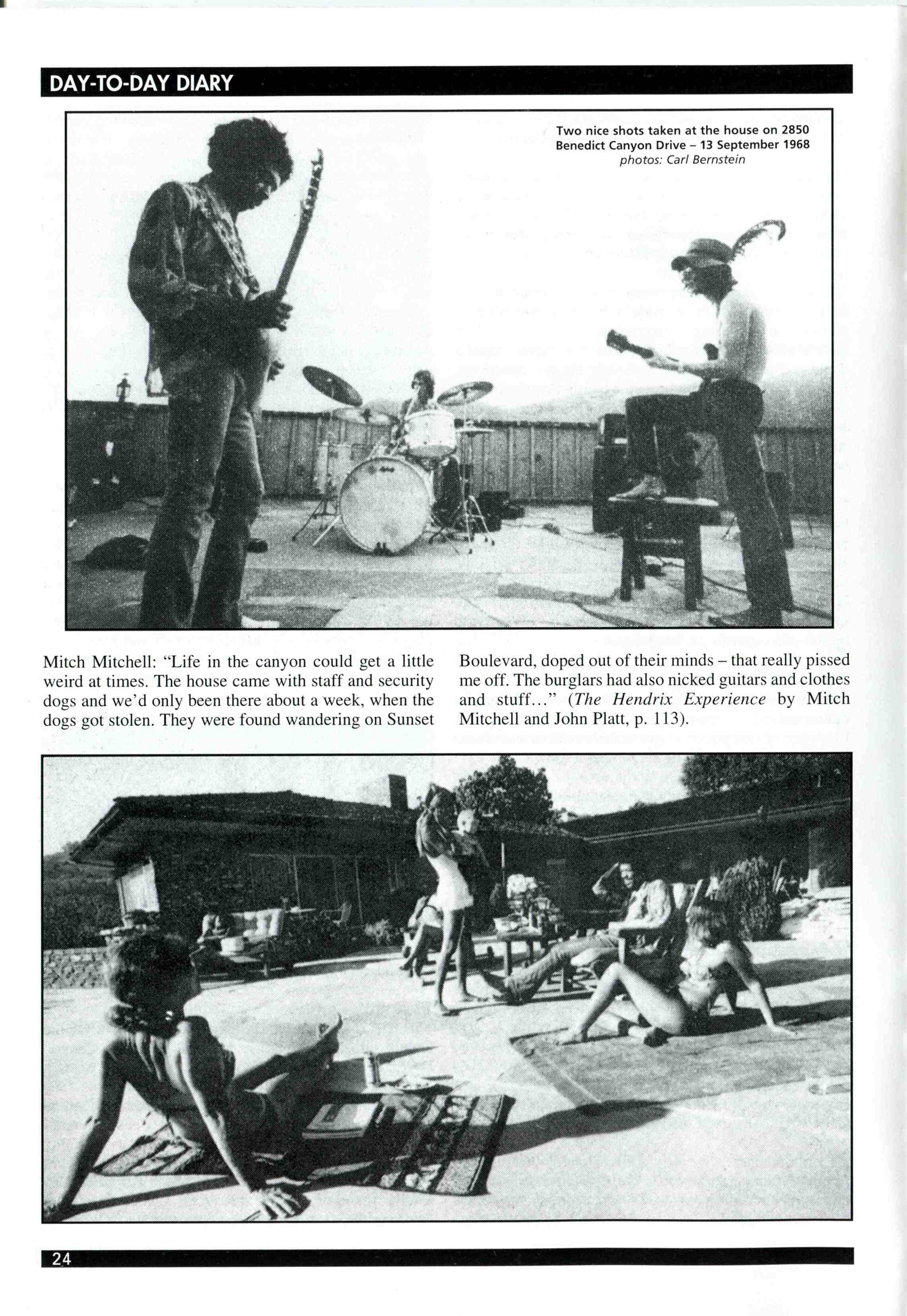 Oakland (Oakland Coliseum) : 13 septembre 1968  381518UV35p24