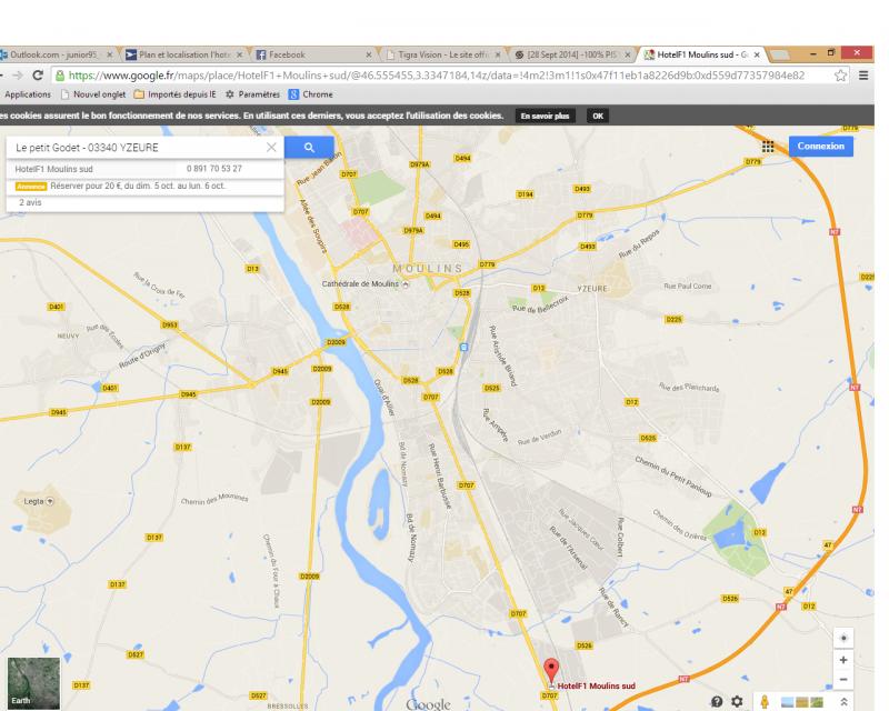 [28 Sept 2014] -100% PISTE au circuit du BOURBONNAIS [03] - Page 9 382670hotel