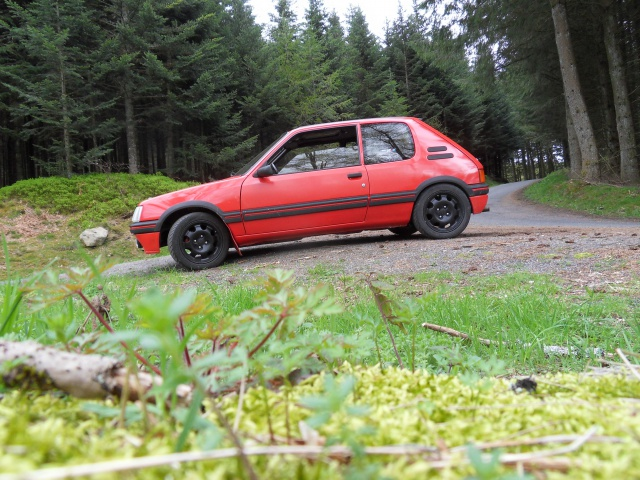 [AutoRétro-63]  205 GTI 1L9 - 1900cc rouge vallelunga - 1990 383430SDC17777