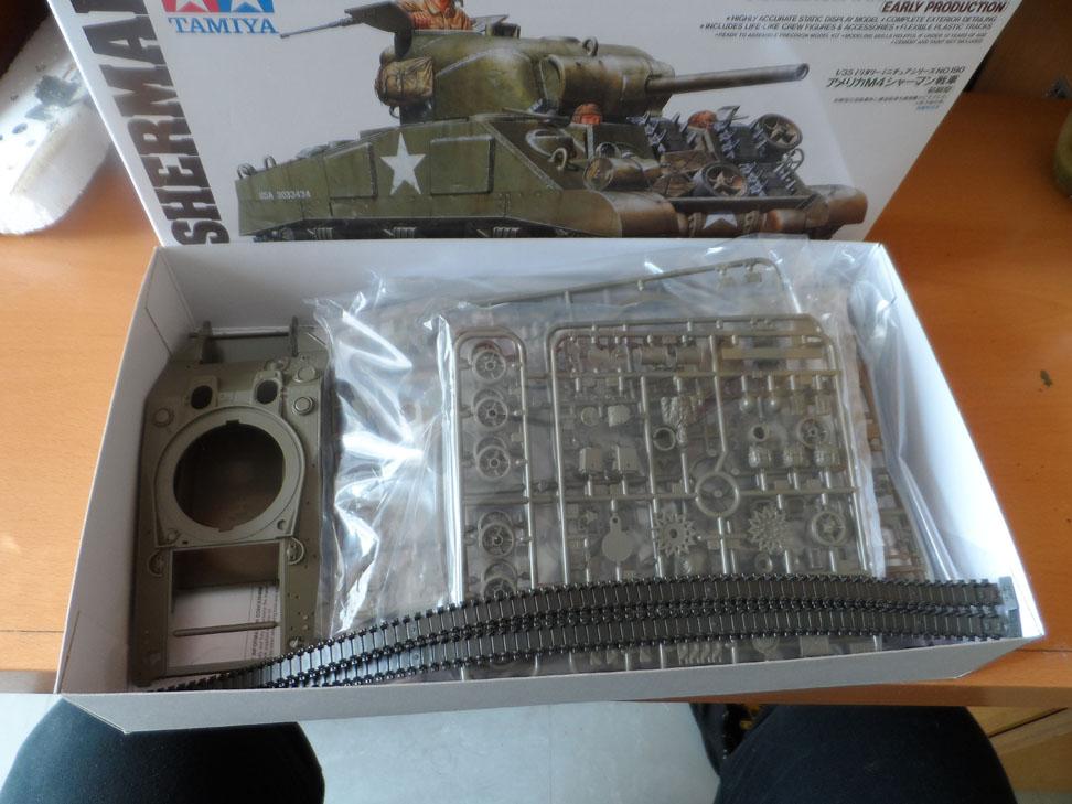 M4 Sherman late production Tamiya 1/35 383593SAM0334