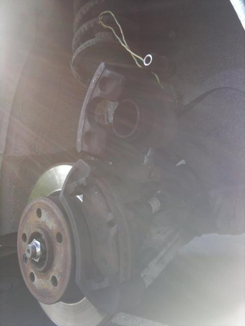 Changement plaquette de frein AV Vito F 2001 38516409052011459