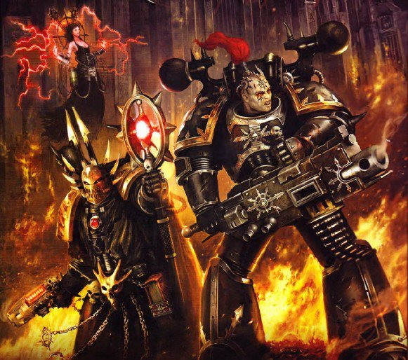 [W40K] Illustrations du Chaos - Page 2 385795chaos11