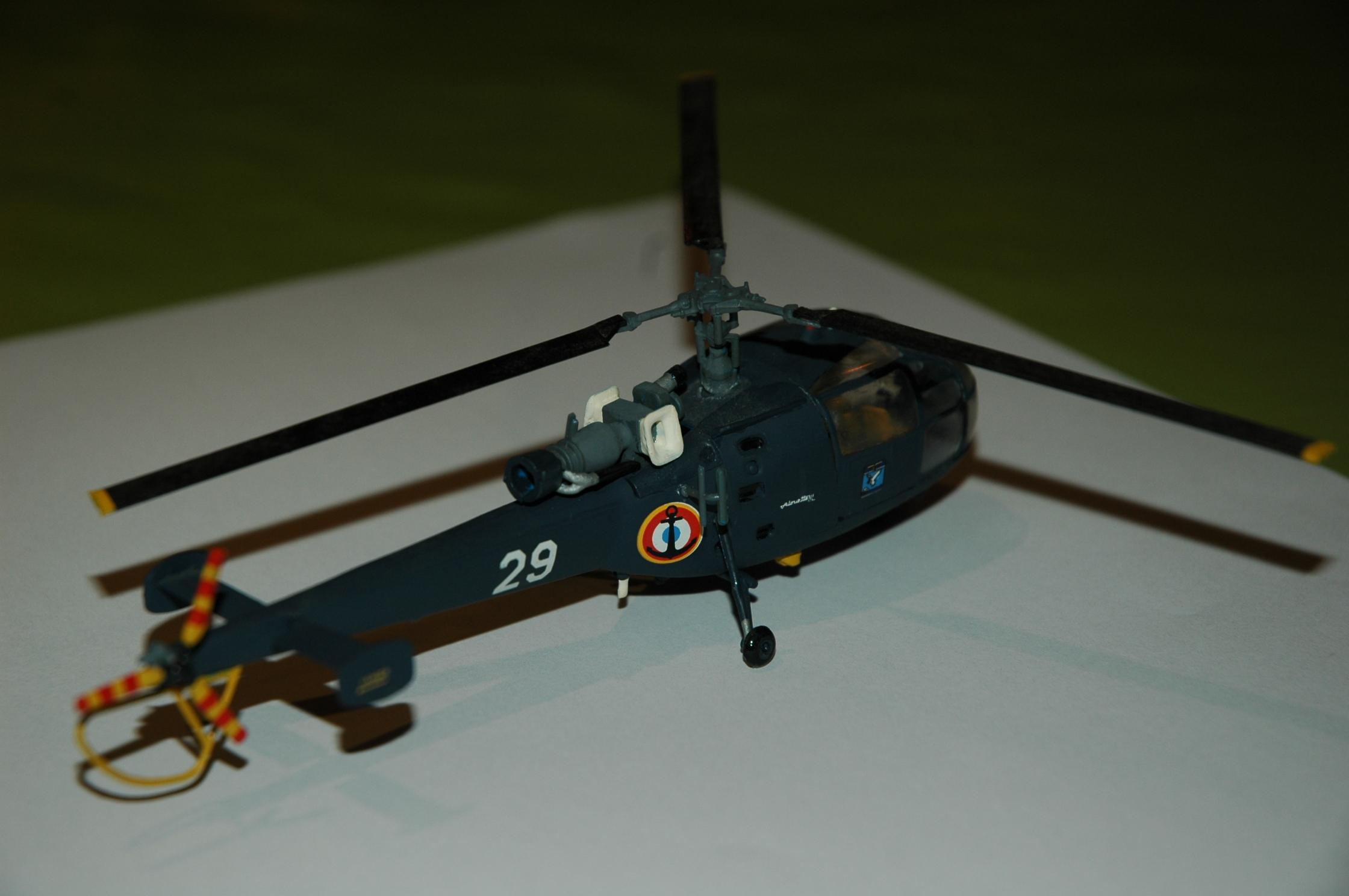 Alouette III Marine - Heller 1/72 387019DSC0022