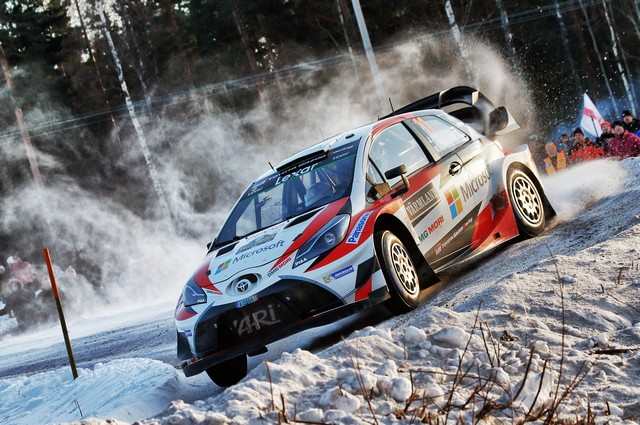 Jari-Matti Latvala Gagne En Suède Avec La Yaris WRC Et Prend La Tête Du Championnat Du Monde 387253AL20170025982