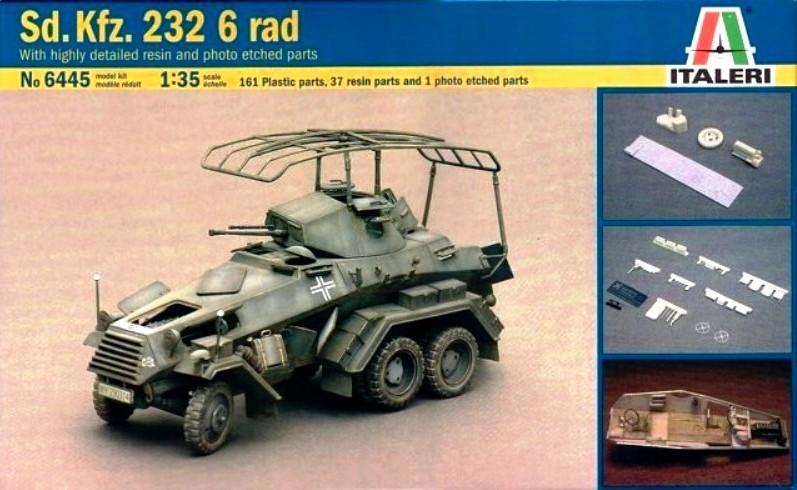Sd.Kfz. 232 6 Rad - France 1940 - Italeri 1/35 387635sdkfz232boxtop