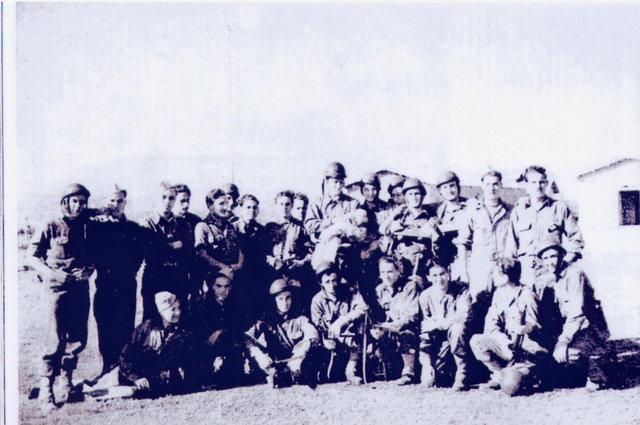 Le Bataillon de Choc 1943/1963. Photos. 388170Sept432mesection1reCieLtArguillire