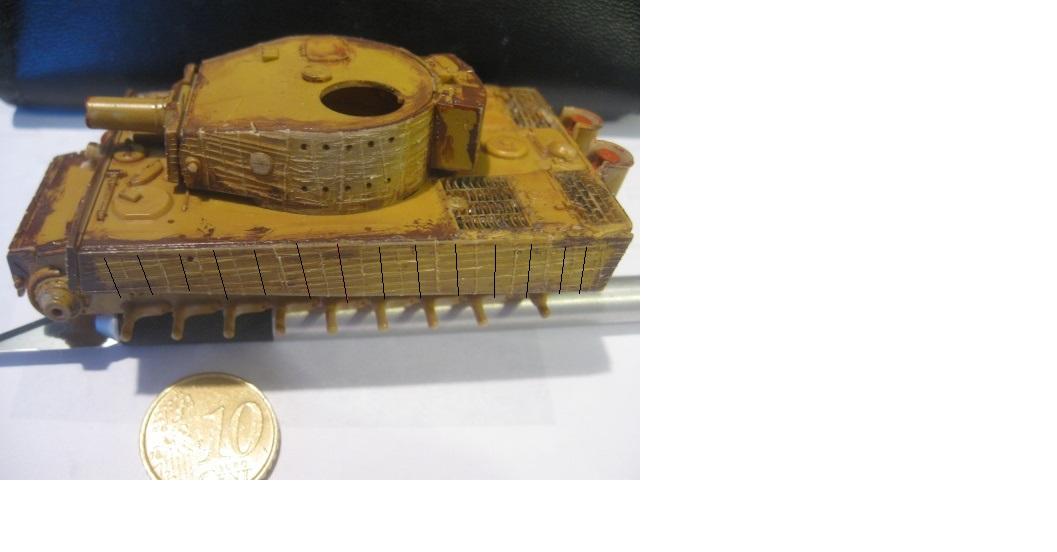 PzKpfw VI  Tigre I Ausf E (1/72 - Revell ) 388894img1511