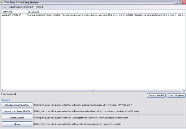 """""""Les Sims 3 a cessé de fonctionner"""" systématique après 1h de jeu - Page 2 393847SIMS3BUG"""