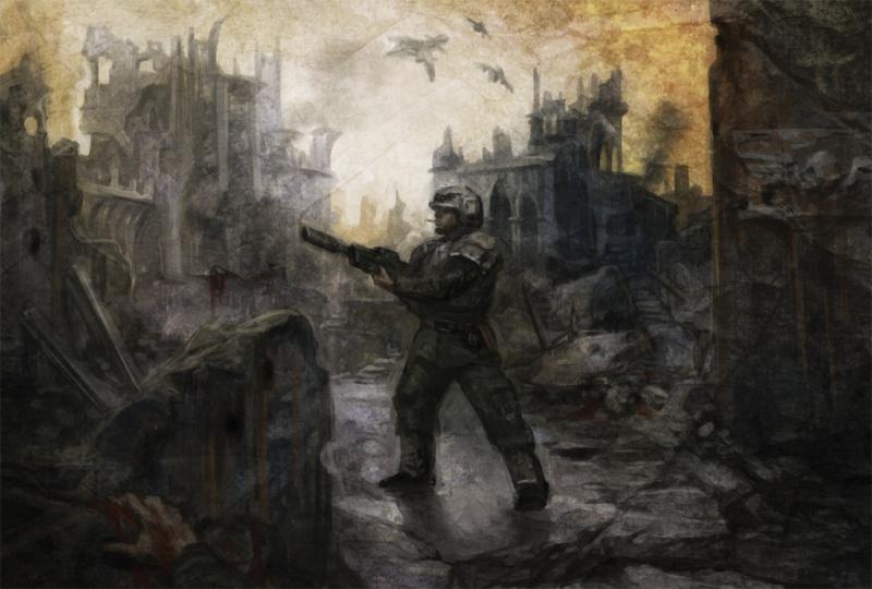 [W40K] Collection d'images : La Garde Impériale 394073SoleSurvivorbyShunkarion
