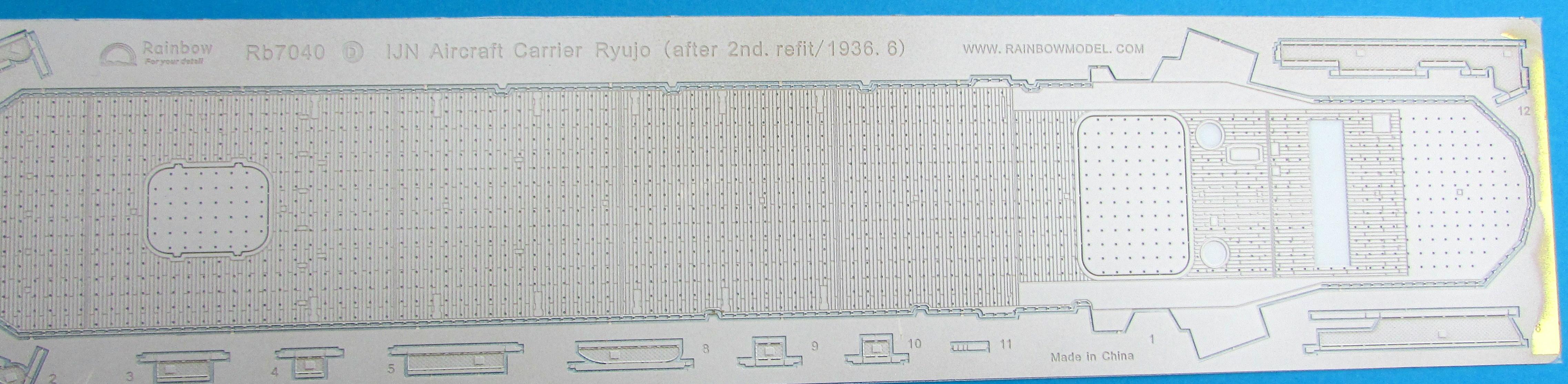 CVL Ryujo -  Fujimi 1/70 394497gg008