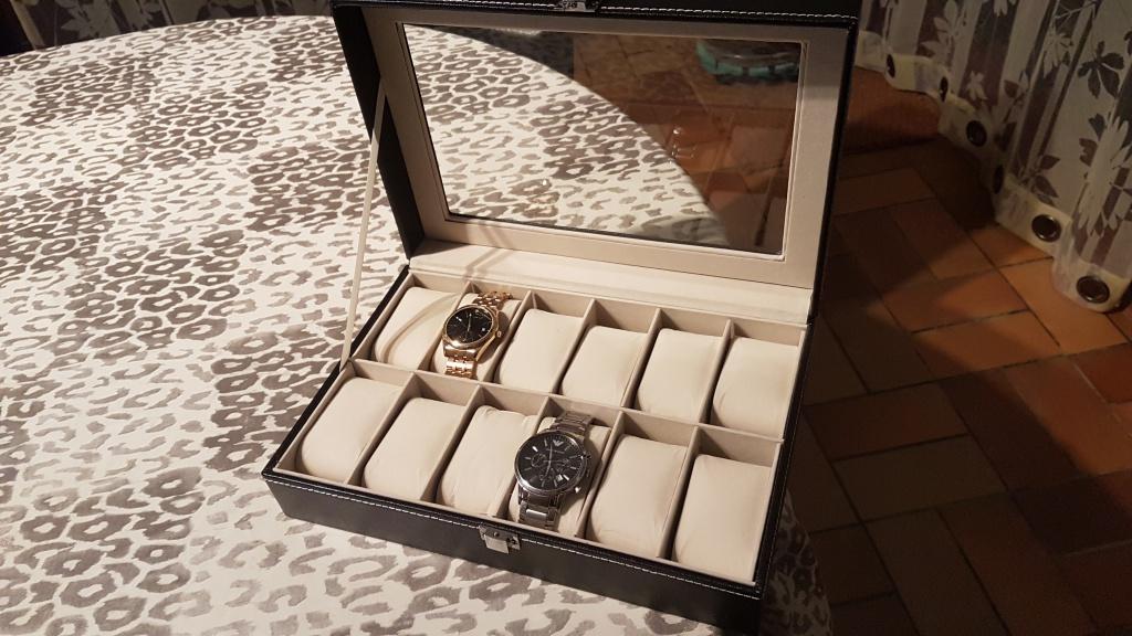 panerai -  [SUJET UNIQUE] écrin, boîte ou coffret pour ranger les montres... - Page 44 39461520170105175706