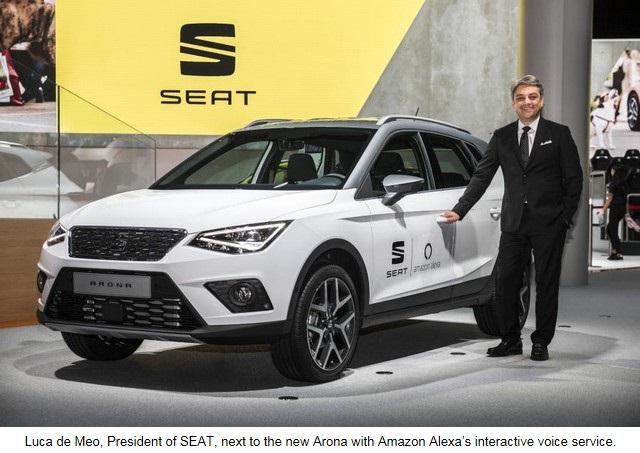 SEAT, première marque automobile en Europe à intégrer Amazon Alexa dans ses véhicules 396234SetRatioSize900650SEATIAA01