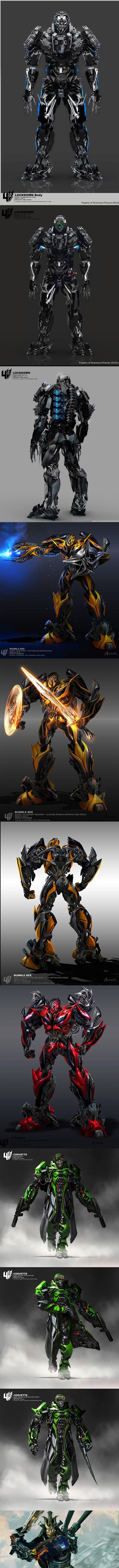 Concept Art des Transformers dans les Films Transformers - Page 5 3973687lockdownfullskullface1