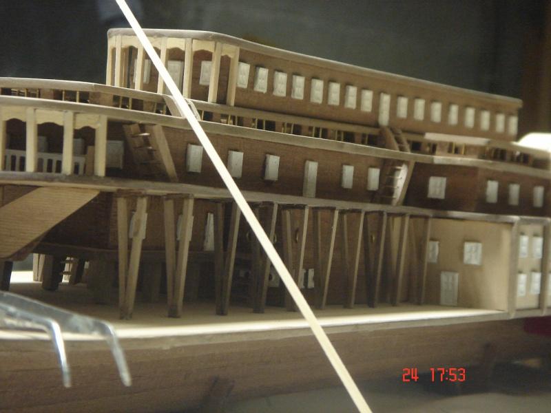 Bateau vapeur Robert E. Lee 1866 (Constructo 1/48°°) de Henri 397493DSC06805
