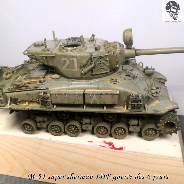 M-51 Super Sherman IDF - Academy 1/35 398483IMG4903