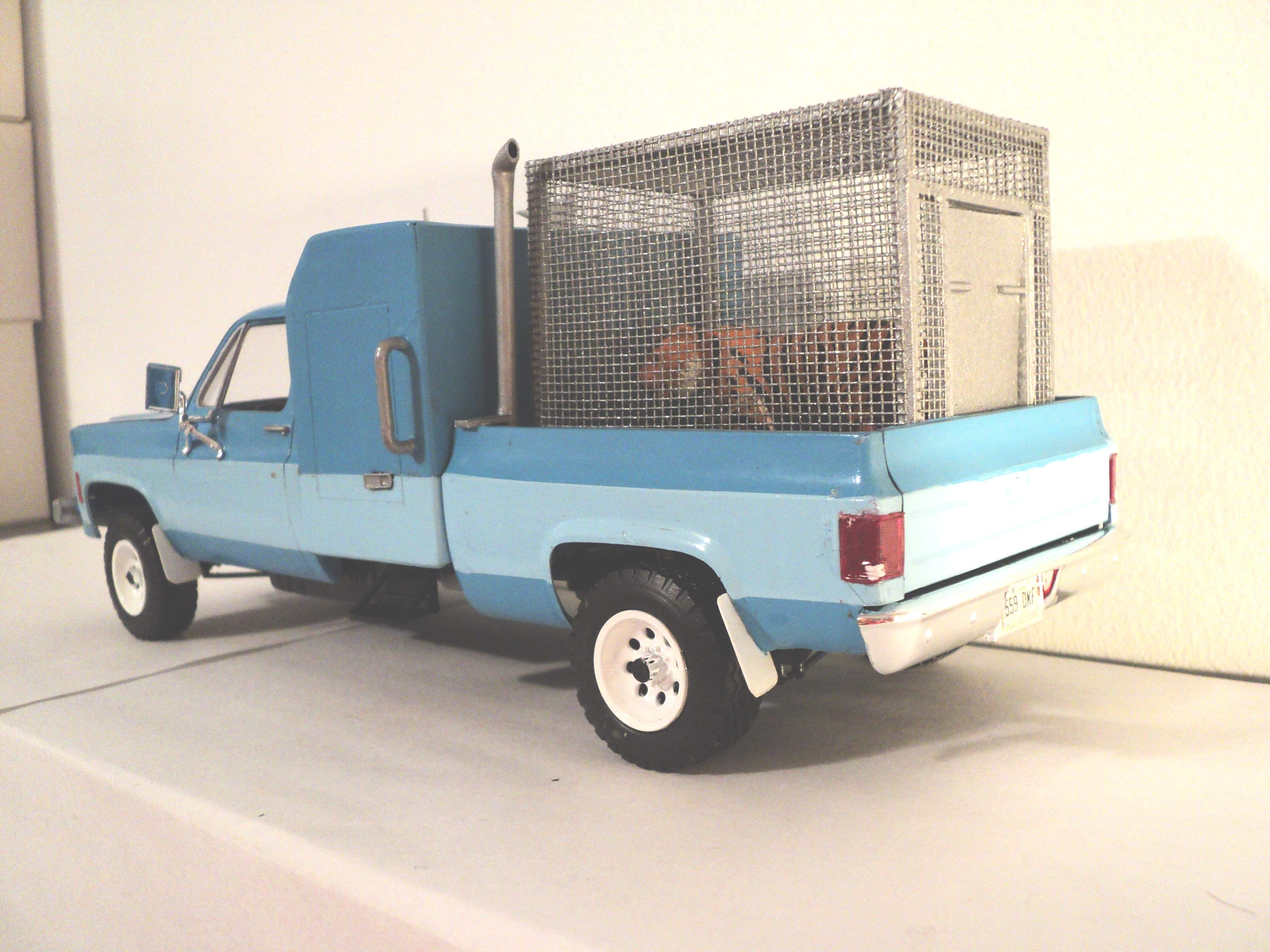 """1977 GMC pickup """"zoo taxi"""" 4002081977GMC003"""