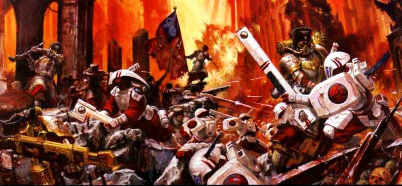 [W40K] Collection d'images : La Garde Impériale 400614VostroyanFirstbornvsTau