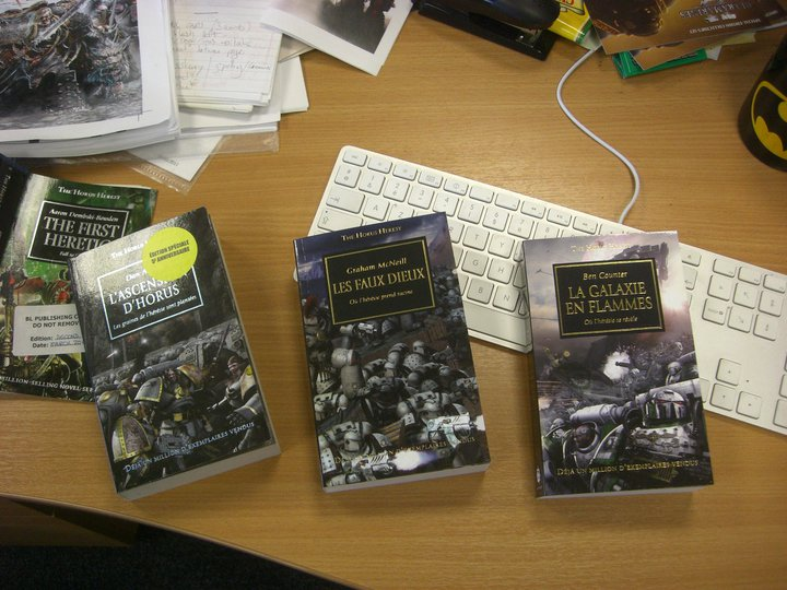 Introduction  à la Black Library 401721Horusheresy
