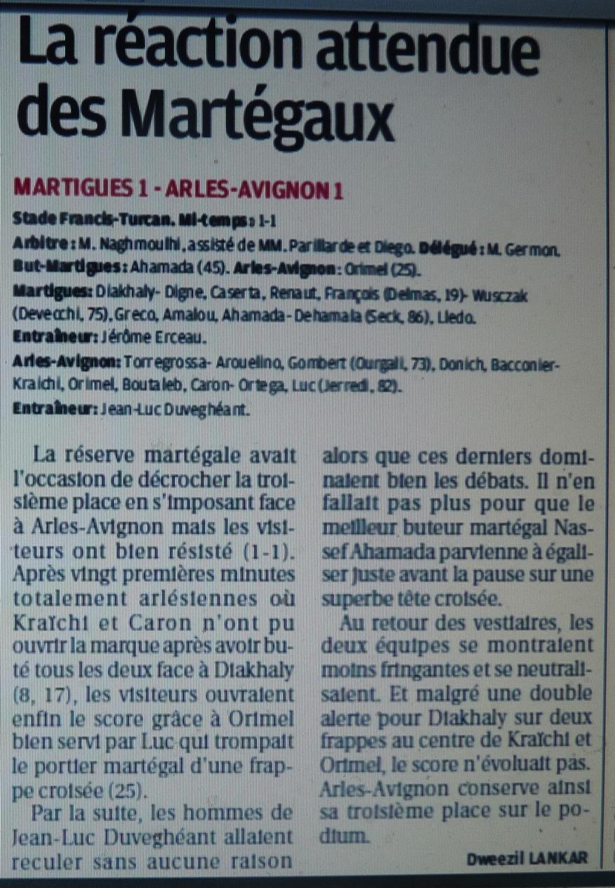 FC MARTIGUES B // DH MEDITERRANEE - Page 3 404930P1170525