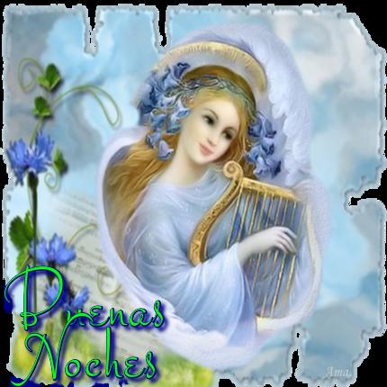 Arcangel Tocando el Arpa 405022noches