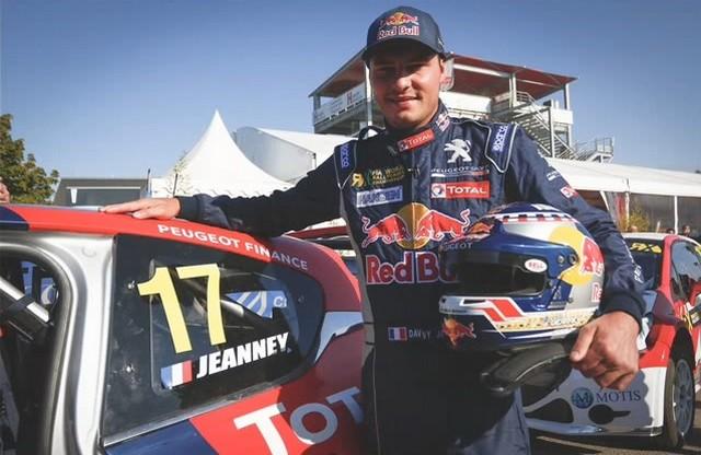 Rallycross : La PEUGEOT 208 WRX triomphe à domicile avec Timmy Hansen ! 405971LohacDavyJeanney
