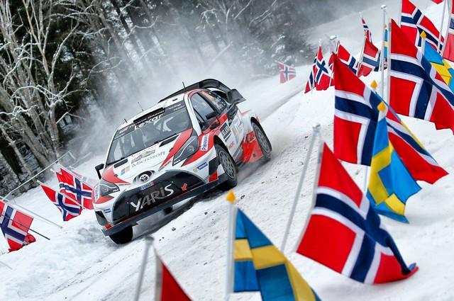 Jari-Matti Latvala Gagne En Suède Avec La Yaris WRC Et Prend La Tête Du Championnat Du Monde 406605AL20170025223