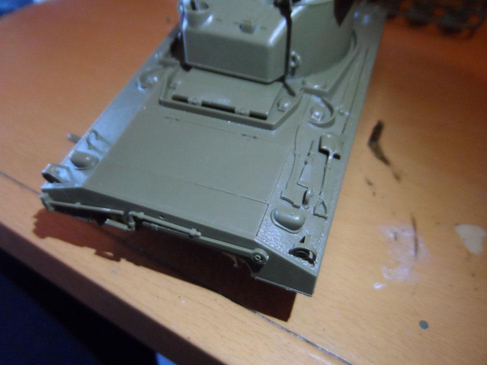 M4 Sherman late production Tamiya 1/35 406883SAM0377