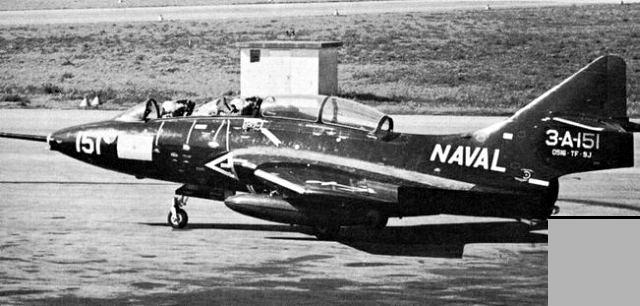GRUMMAN F9F PANTHER  407159Grumman_Cougar_argentin