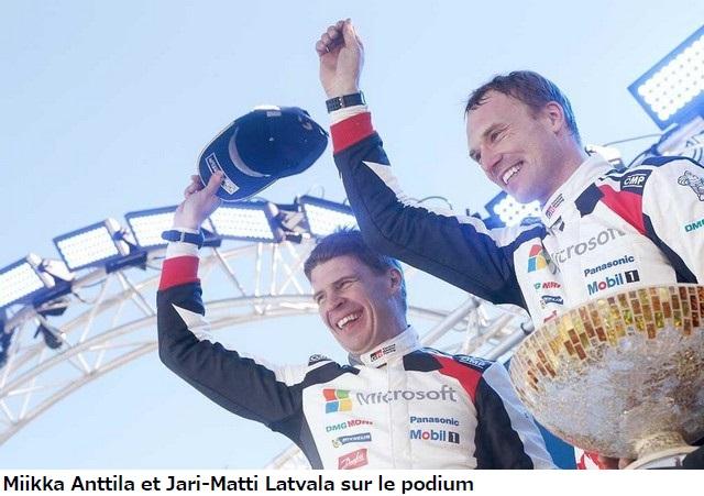 Jari-Matti Latvala Gagne En Suède Avec La Yaris WRC Et Prend La Tête Du Championnat Du Monde 408381miikkaanttilaetjarimattilatvala