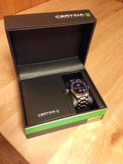 Retour de Suisse avec une montre -> Certina 408782IMG2313