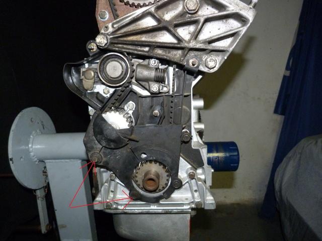 TUTO , remplacement kit distribution et pompe a eau 409122P1130851
