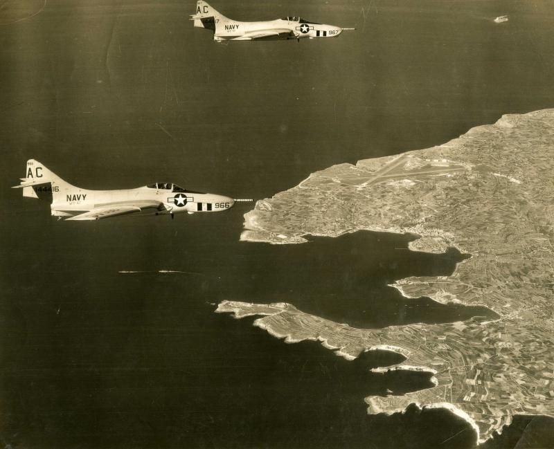 GRUMMAN F9F PANTHER  409881F9F_8P_VFP_62_CVA_60_1958