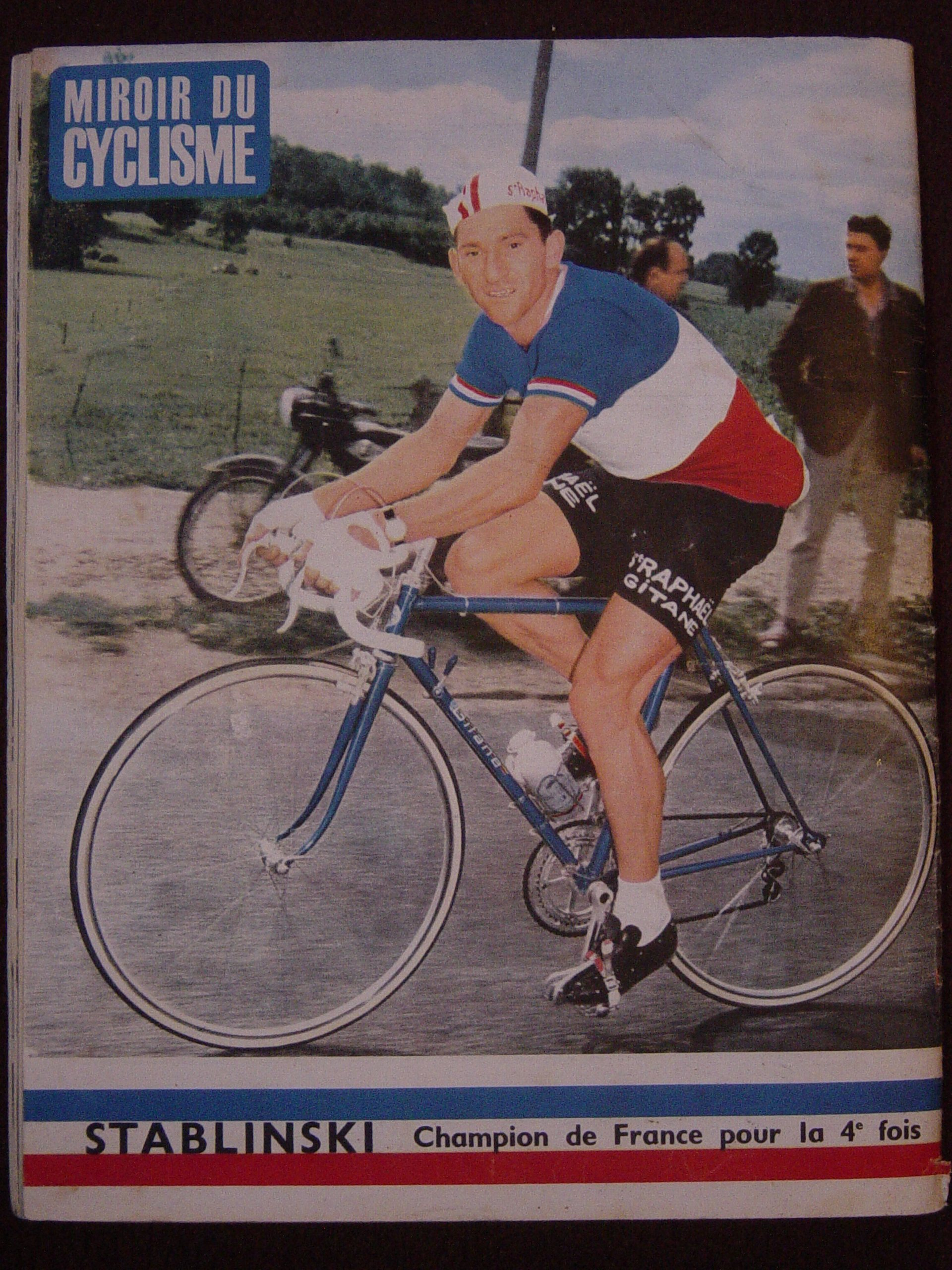 Vélo GITANE 1964 410579aStablinskiJMiroirSprint64