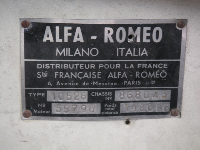 centre de documentation alfa romeo et date de fabrication - Page 2 411430G16Ident