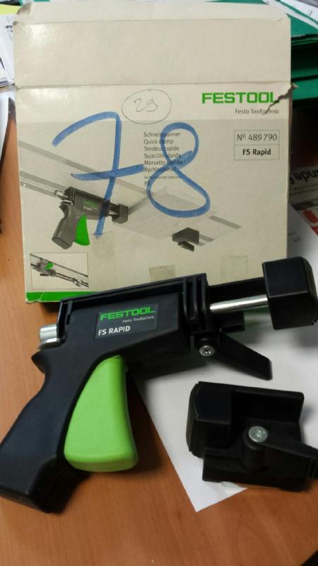 Vends serre joints rapide Festool FS-RAPID/R 411478mms20150722155346