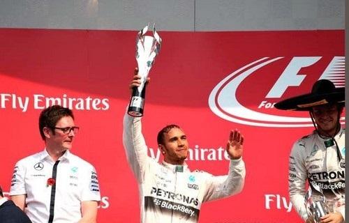 F1 GP du Mexique  2015 : Victoire de Nico Rosberg  4115632015hamilton1