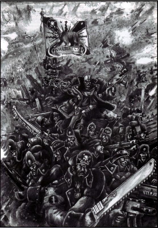 [W40K] Collection d'images : La Garde Impériale 411935Valhallans