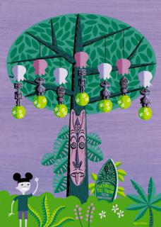 (Collectibles) Josh Agle / SHAG (collaboration avec Disney depuis 2003)  412768Tangaroa