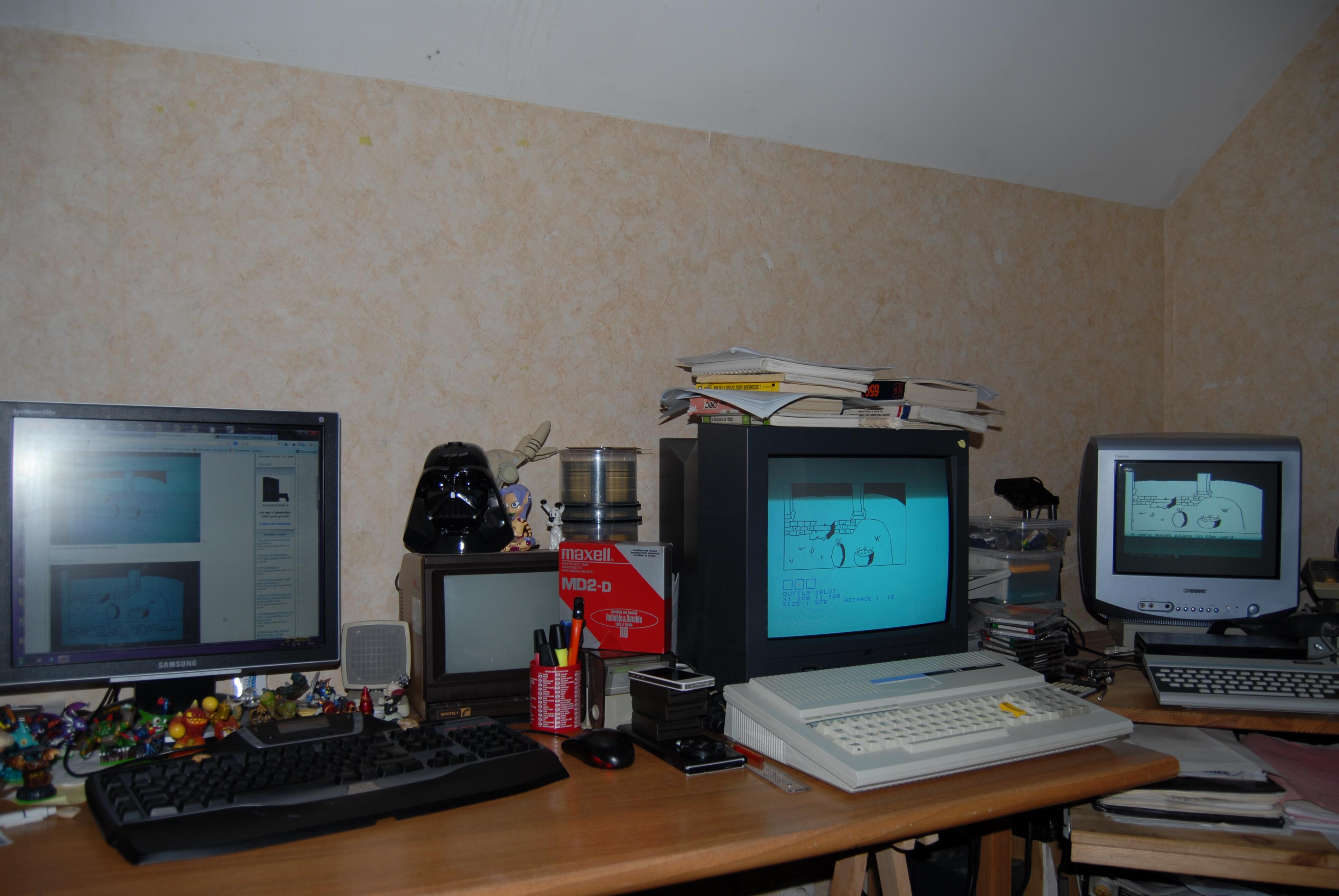 [C64 Disponible] ATHANOR Jeu d'Aventure à l'ancienne sur micro 8BIT - Page 14 412794DSC0298