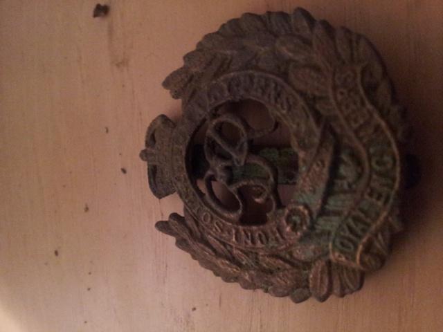 """Royal Engineers corps"" Cap badge 41430920171008204913"