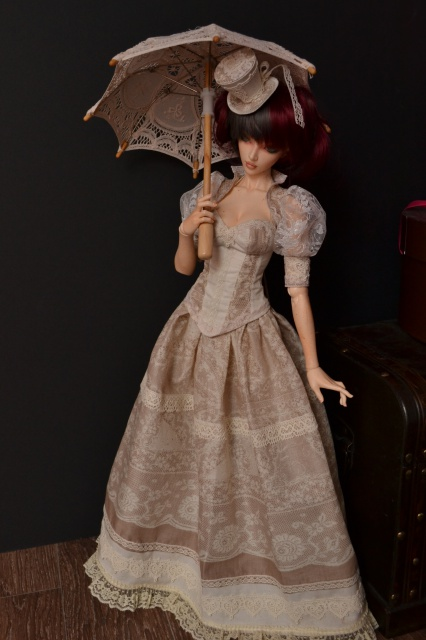 Fairytales Treasures - vêtements par Nekochaton et Kaominy - Page 9 417195ROBEVICTORIENNEFEEPLEE