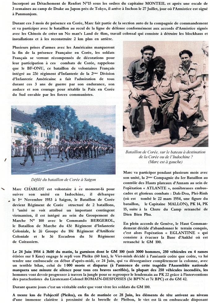 Soldat Marc CHARLOT MPLF le 28 Juin 1954 Régiment de Corée/GM100 417732img488Copie