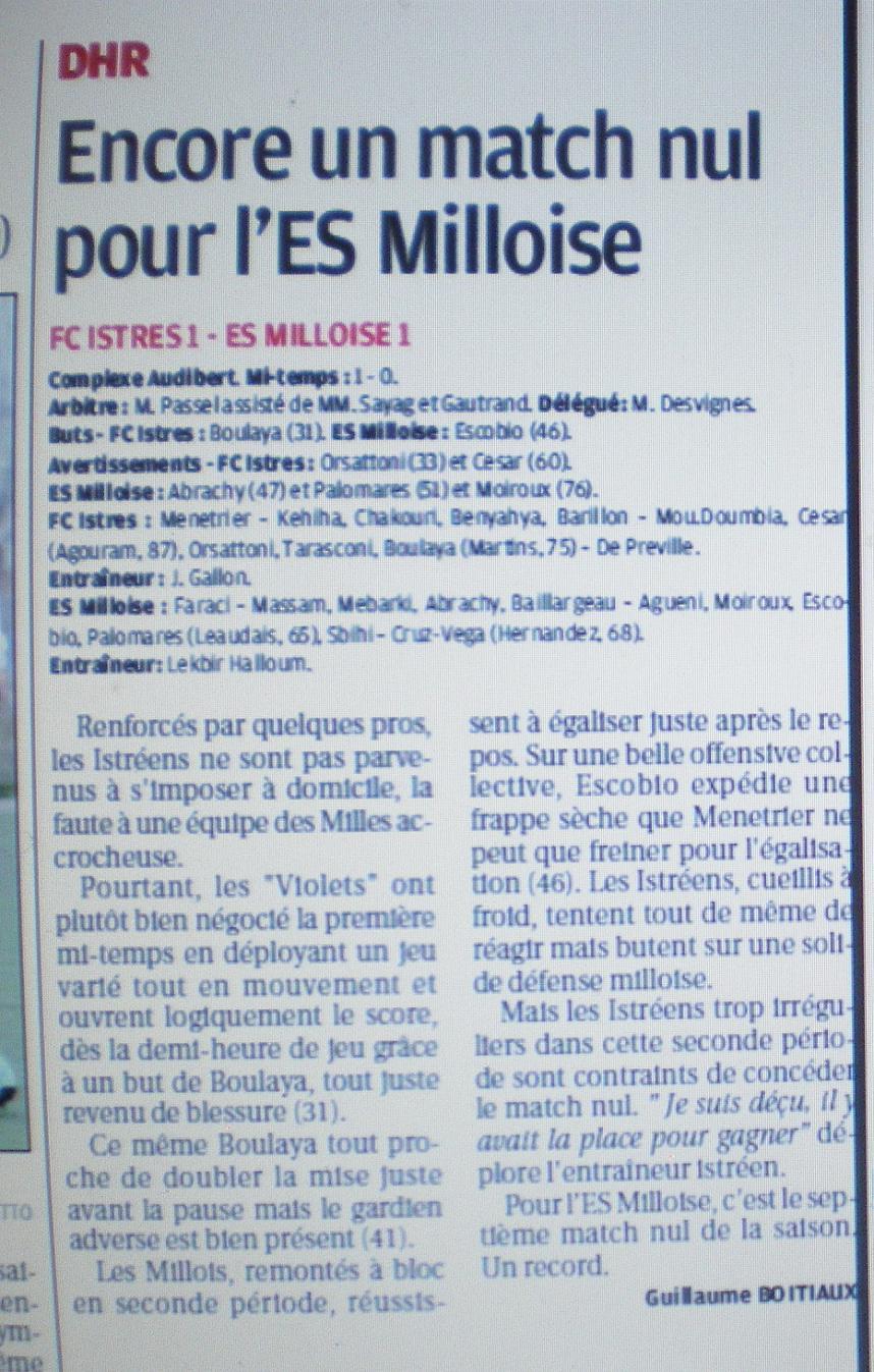 FC ISTRES B  // DHR  MEDITERRANEE  et AUTRES JEUNES  418110IMGP4044