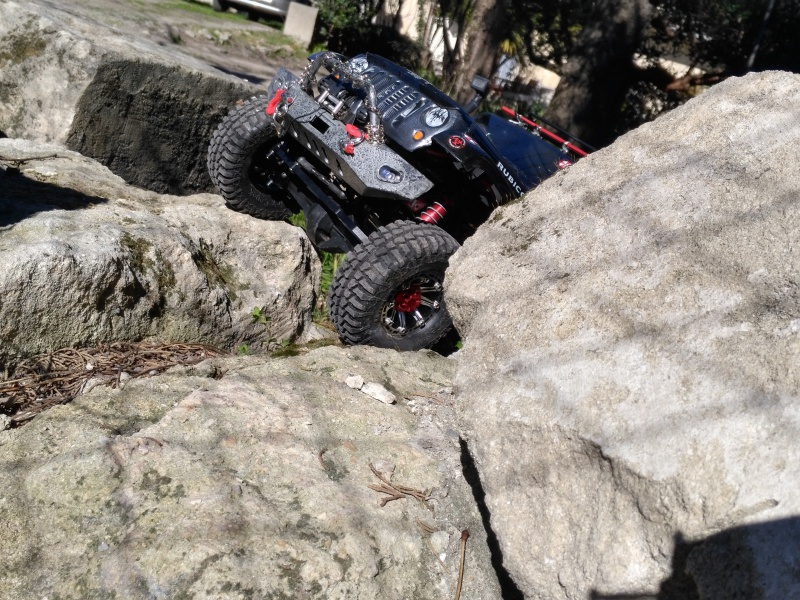axial Scx10 - Jeep Umbrella Corp Fin du projet Jeep - Page 8 418871IMG20170226135758