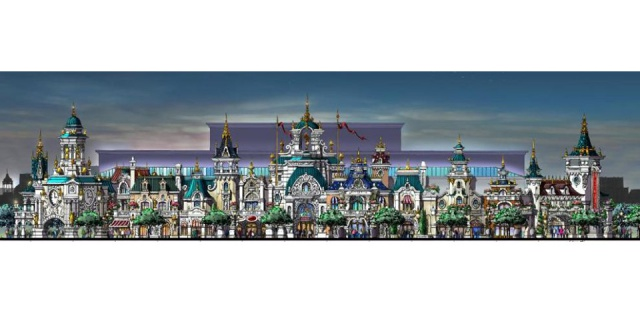 (Chine) Fushun DreamWorld Theme park, Hotel & Resort (201?) 419405fdw4